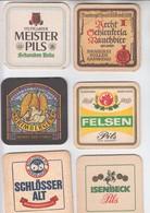 LOT  20    6 X   BIERDECKEL   Der Brauerei - Alcohols
