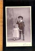 Photographie Cabinet : Enfants  / Photographe Fred BOISSONNAS 4 Quai De La Poste GENEVE Suisse - Photographs