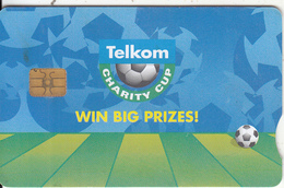 SOUTH AFRICA - Telkom Charity Cup 2003/Win Big Prizes, Telkom Telecard, Chip Siemens 35, Used - Afrique Du Sud
