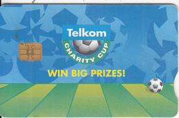 SOUTH AFRICA - Telkom Charity Cup 2003/Win Big Prizes, Telkom Telecard, Chip Siemens 35, Used - Zuid-Afrika