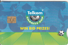 SOUTH AFRICA - Telkom Charity Cup 2003/Win Big Prizes, Telkom Telecard, Chip GEM3.3, Used - Zuid-Afrika