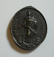 Veronica * Old Religious Medal - Religion & Esotérisme