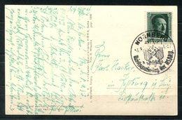 6835 - DEUTSCHES REICH - Mi.Nr. 650 Als Einzelfrankatur Auf Führer-Postkarte Aus Nürnberg - Storia Postale