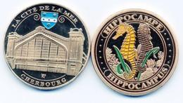 Pièce Collection - Cité De La Mer Cherbourg -    Hippocampe - Hippocampus - Non Classificati