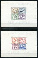 6836 - DEUTSCHES REICH - Block 5 Und 6 Mit Ersttags-Sonderstempeln - Olympia 1936 - Blocks & Kleinbögen