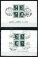6837 - DEUTSCHES REICH - Blocks 7, 8, 9 Und 11 - Gestempelt - Deutschland