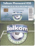 SOUTH AFRICA - Telkom Charity Cup 2008, Telkom Telecard, Chip GEM3.3, Exp.date 08/11, Used - Zuid-Afrika