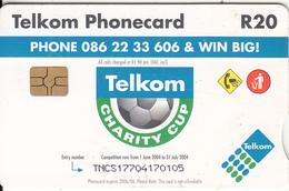 SOUTH AFRICA - Telkom Charity Cup 2004, Telkom Telecard, Chip GEM3.3, Exp.date 06/06, Used - Zuid-Afrika