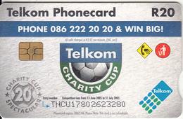 SOUTH AFRICA - Telkom Charity Cup 2005, Telkom Telecard, Chip GEM3.3, Exp.date 06/07, Used - Zuid-Afrika