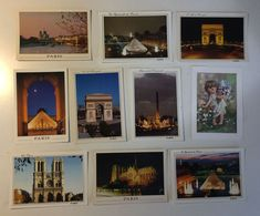 PARIS - PARIGI - Angelo Angel - Lotto 10 Cartoline - Cartes Postales