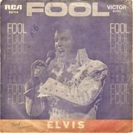 ELVIS PRESLEY - Fool - VICTOR / TELECTRA - PORTUGAL - 7/45 - Disco & Pop