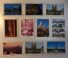 PARIS - PARIGI - Lotto 10 Cartoline - 5 - 99 Cartoline