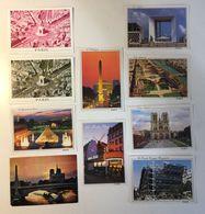PARIS - PARIGI - Lotto 10 Cartoline - Ansichtskarten