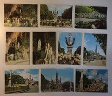 LOURDES - Madonna - Cartoline Santino Holy Card Postcards - Lotto 10 Cartoline - Cartoline