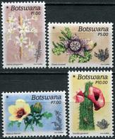 Botswana. 2017. Flowers Of The Desert (MNH OG **) Set Of 4 Stamps - Botswana (1966-...)