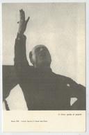 ROMA  1920   COMIZIO  FASCISTA  IN  PIAZZA  SANT' ELENA     2 SCAN        (NUOVA) - Personaggi