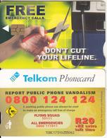 SOUTH AFRICA - Pliers In Hand, Telkom Telecard, Chip GEM3.3, Exp.date 07/03, Used - Zuid-Afrika