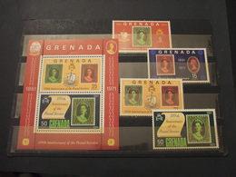 GRENADA - 1971 POSTA 4 VALORI + BF - NUOVI(++) - Grenada (1974-...)
