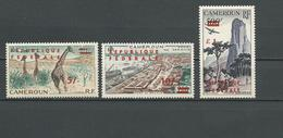 CAMEROUN Scott C38-C40 Yvert PA49**-PA51* (8) **, ** Et * Cote 67,00 $ 1961 - Cameroun (1960-...)