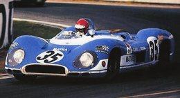 24 Heures Du Mans 1969  - Matra Simca MS 670  -  Pilote: Nanni Galli  -  15x10 PHOTO - Le Mans