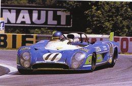 24 Heures Du Mans 1973  - Matra Simca MS 670  -  Pilote: Gerard Larrouse  -  15x10 PHOTO - Le Mans