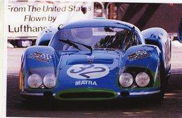 24 Heures Du Mans 1969  - Matra Simca MS 630  -  Pilote: Guichet/Vaccarella  -  15x10 PHOTO - Le Mans