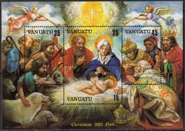 VANUATU - Noël 1982 Feuillet - Vanuatu (1980-...)