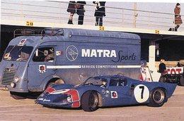 1000kms De Paris à Montlhèry 1967 -Matra Simca MS 630 + Matra Sports Camion-Pilote:Jean-Pierre Beltoise - 15x10 PHOTO - Le Mans