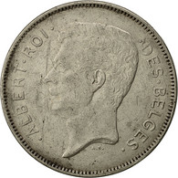 Monnaie, Belgique, Albert I, 20 Francs, 20 Frank, 1932, TTB, Nickel, KM:101.1 - 1909-1934: Albert I