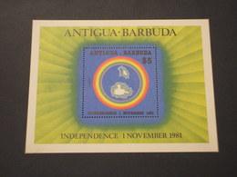 ANTIGUA - BF 1981 INDIPENDENZA - NUOVO(++) - Antigua E Barbuda (1981-...)