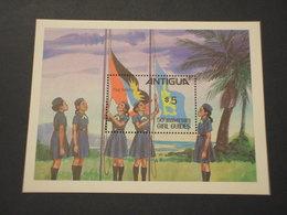 ANTIGUA - BF 1971 GIRL GUIDES - NUOVO(++) - Antigua E Barbuda (1981-...)