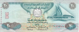 BILLETE DE EMIRATOS ARABES DE 20 DIRHAMS DEL AÑO 2007  (BANKNOTE) - Emiratos Arabes Unidos