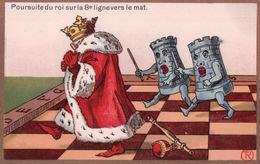 Jeux D'Echec Par Illustrateur R, Litho (304) - Ajedrez