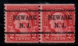 """USA Precancel Vorausentwertung Preo, Locals """"NEWARK (NJ). - United States"""