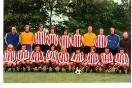 Equipe De Foot- Ball Du PSV Eindhoven ( Années 70) - Football
