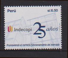PERU, 2017, MNH, ECONOMY, MARKETS, INDECOPI,1v - Stamps