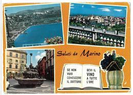 Italia Lazio Marino Saluti Non Viaggiata - Italia