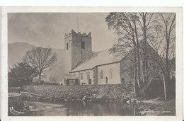 Cumbria Postcard - Grasmere Church - Ref ND1145 - Cumberland/ Westmorland