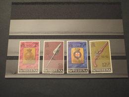 ST. HELENA - 1972 EQUIPAGGIAMENTI MILITARI 4 VALORI - NUOVI(++) - Isola Di Sant'Elena