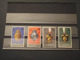 ST. HELENA - 1970 EQUIPAGGIAMENTI MILITARI 4 VALORI - NUOVI(++) - Isola Di Sant'Elena