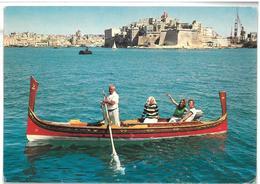 Malta Senglea Le Fortificazioni Massicce Che Circondano La Vecchia Città Di Senglea Danno Sul Porto Grande Non Viaggiata - Malta