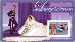 Guinea 2006, Diana II, With Wedding Dress, BF IMPERFORATED - Guinea (1958-...)