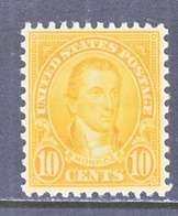 U.S. 642  Perf 11 X 10 1/2   *  Rotary Press  1926-28 Issue - United States