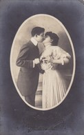 Carte Photo, Fotokaart, Couple In Love, Couple Amoureux (pk45706) - Marriages