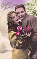 Gelukkig Nieuwjaar, Happy New Year, Couple In Love, Couple Amoureux (pk45707) - Hochzeiten