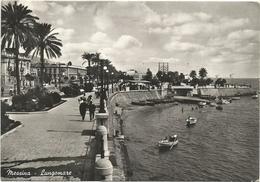 X1816 Messina - Lungomare - Panorama / Viaggiata 1954 - Messina