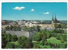 Luxembourg Lussemburgo Cathédrale Et Boulevard Roosvelt Viaggiata - Lussemburgo - Città