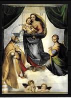 2012 Joint/Gemeinschaftsausgabe/Congiunta Germany Vatican, BLOCK GERMANY WITH FIRST DAY CANCEL: Sistine Madonna - Gezamelijke Uitgaven