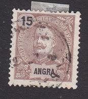 Angra, Scott #17, Used, King Carlos, Issued 1897 - Angra