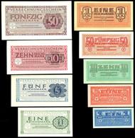 2726 Deutsche Wehrmacht, Kleines Lot Mit Behelfszahlungsmittel Für Die Deutsche Wehrmacht 1940/1942 Bestehend Aus 1, 5,  - [ 2] 1871-1918 : German Empire